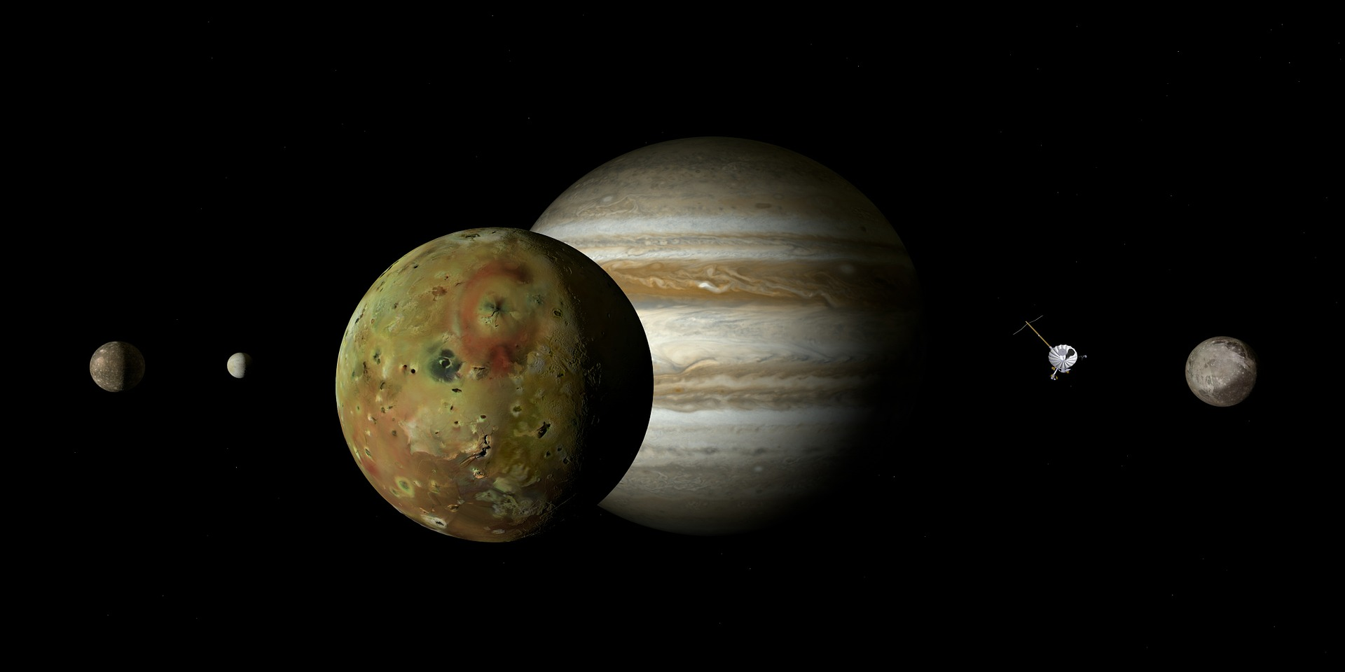 木星の衛星「イオ」