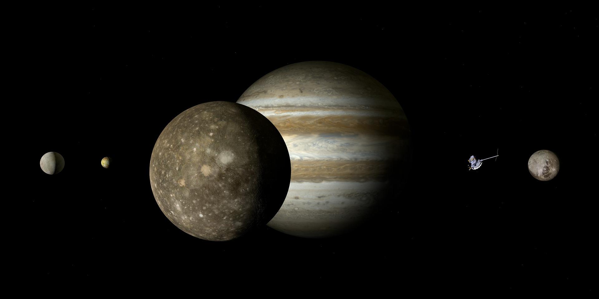 木星の衛星「カリスト」