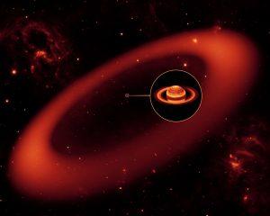土星の衛星「フェーベ」